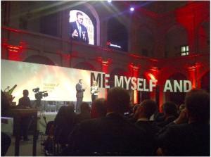 Hannes Ametsreiter beim Future Talk