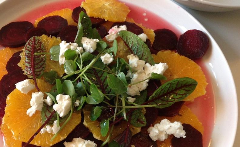 Rauna-Orangen-Salat