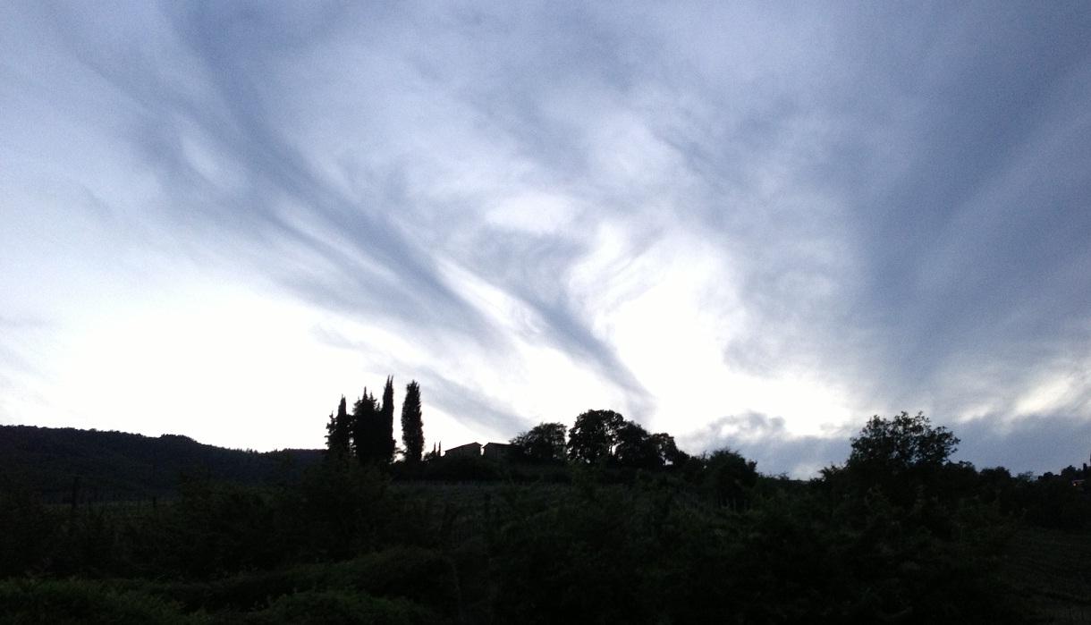 Toskana Abendhimmel