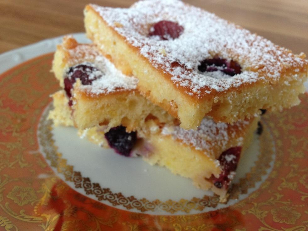 Ricotta Zitronen Kuchen