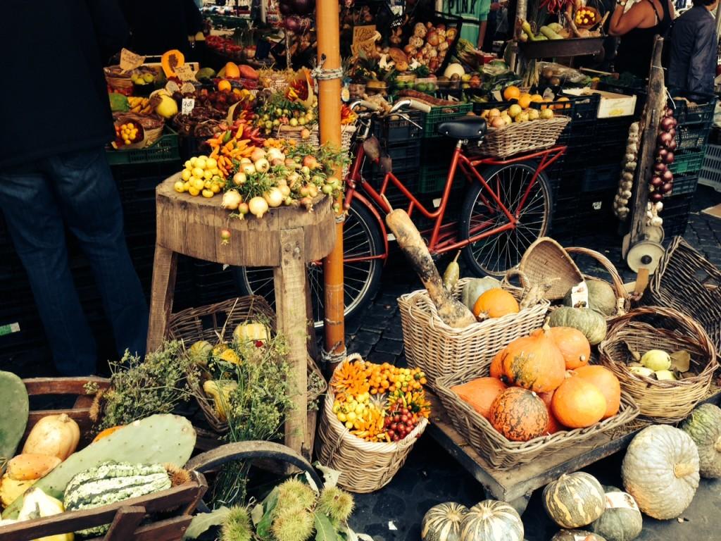 Marktszene am Campo de´Fiori