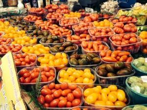 Paradeiser am Markt