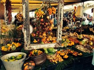 italienischer Lebensmittelmarkt