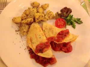 Gemüsepfannkuchen