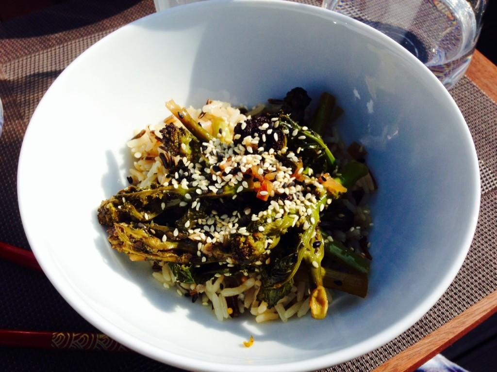 Brokkoli in Ponzu