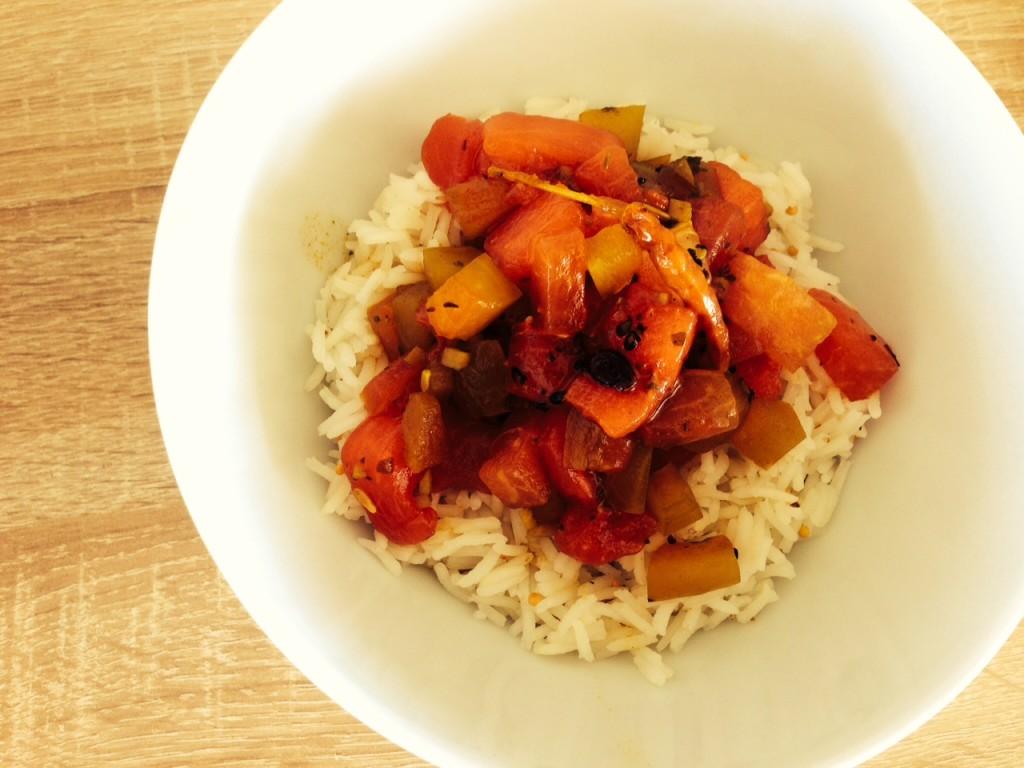 Wassermelonen-Curry