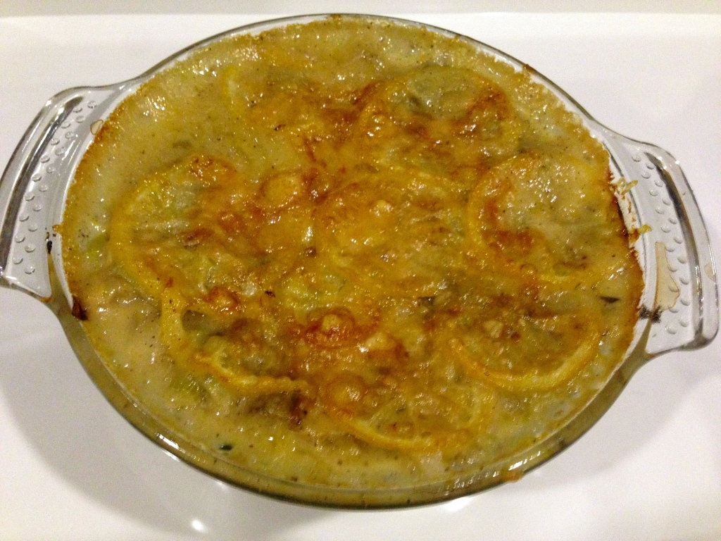 Mangold-Zitronen-Lasagne