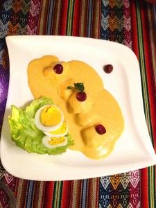 Kartoffel-Gericht im Lima 56
