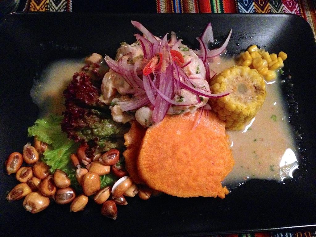 Ceviche im Lima 56