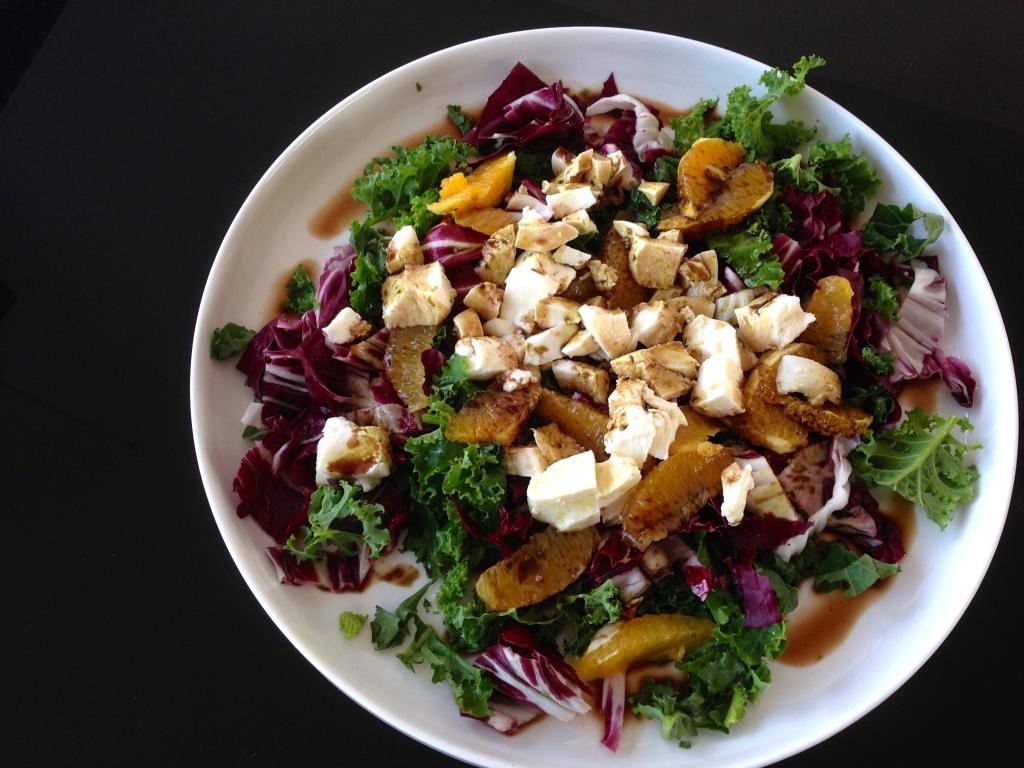 Grünkohl-Radicio-Salat