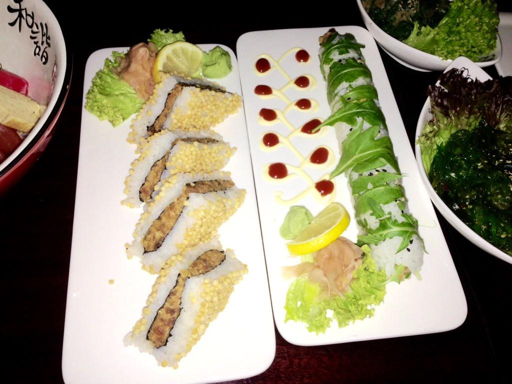 Experimental Sushi