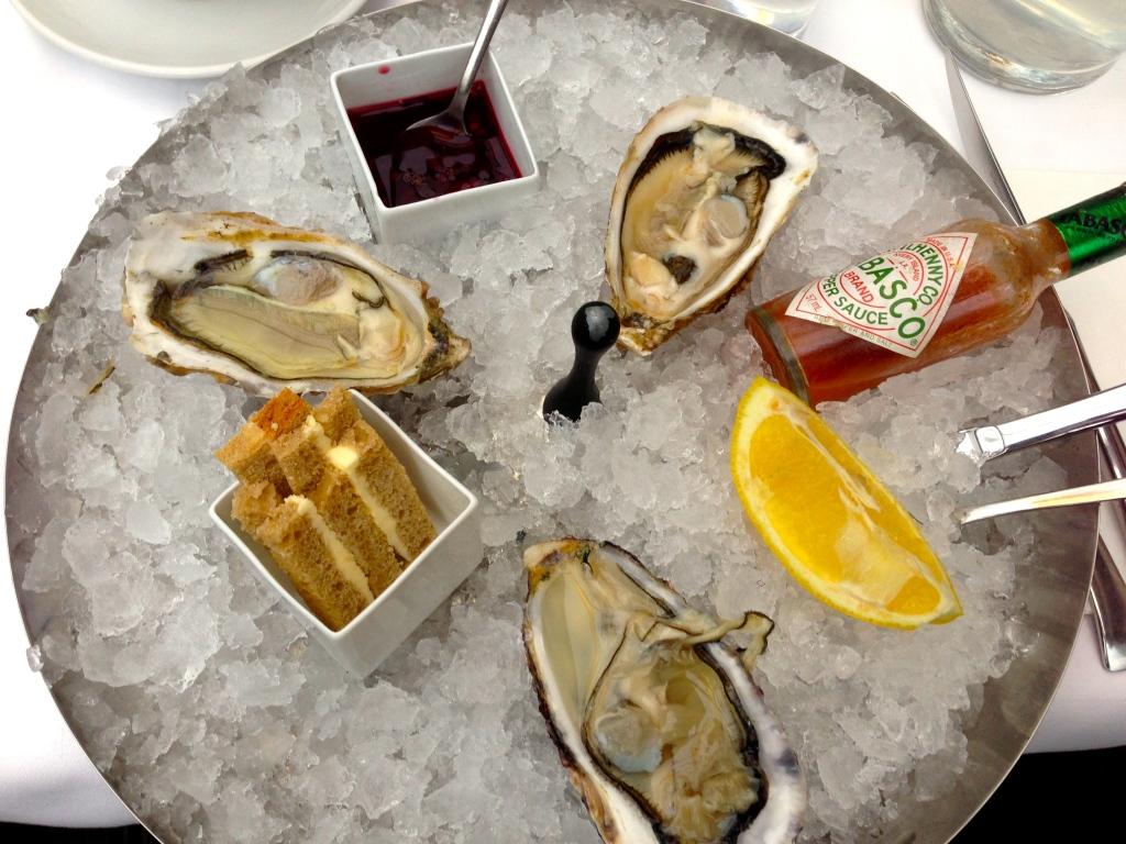 Austern im Sezai