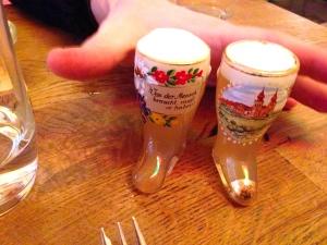 Bier im Stamperl