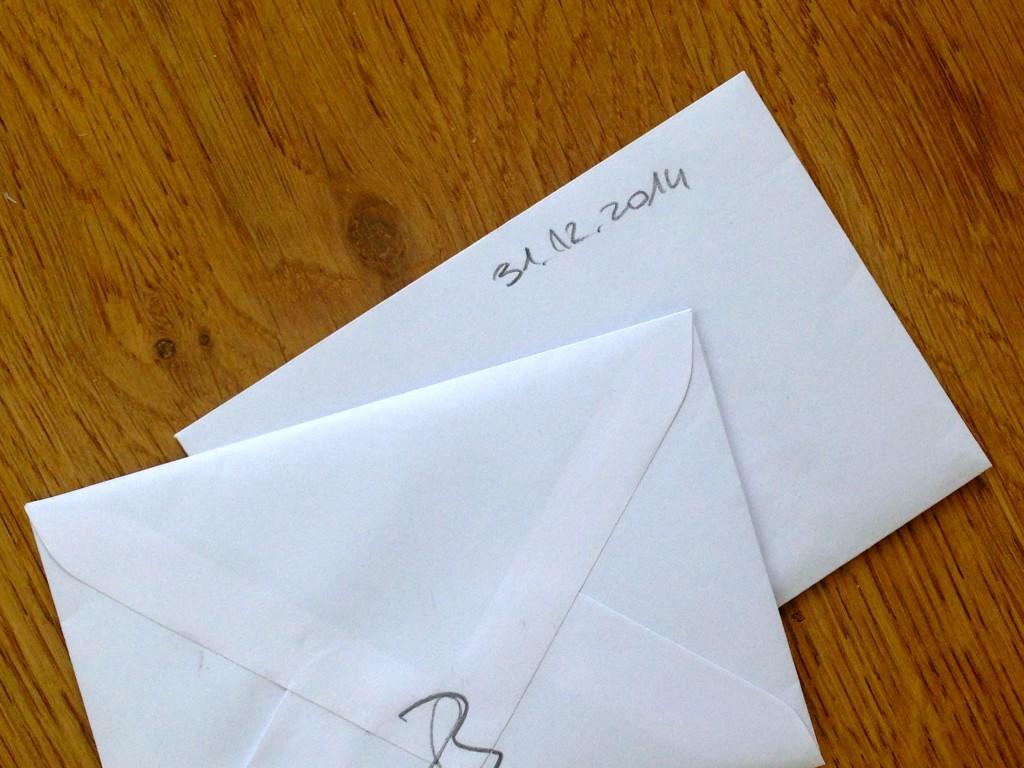Briefe an mein zukünftiges Ich