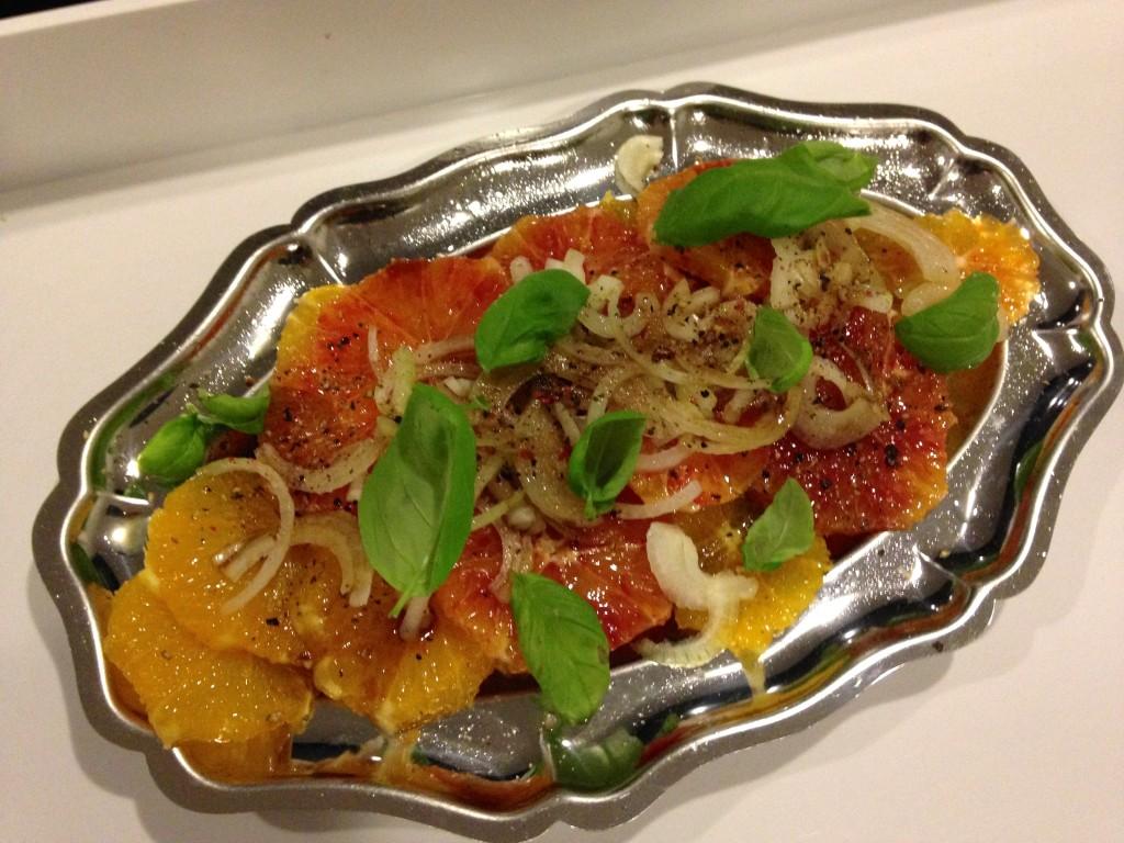 lutorangen-Clementinen-Salat