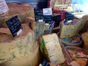Käse soweit das Auge reicht
